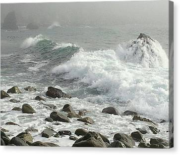 Big Sur Canvas Print by Justin Moranville