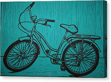 Bike 5 Canvas Print by William Cauthern