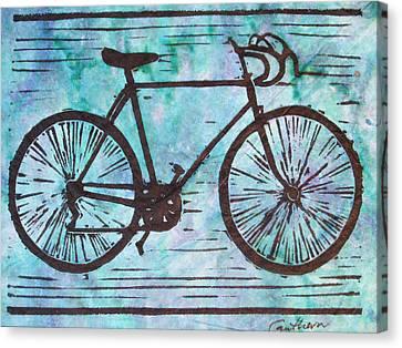 Bike 8 Canvas Print by William Cauthern