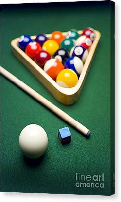 Billiards Canvas Print