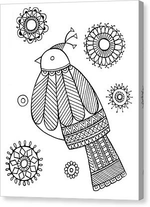 Bird Dove Canvas Print