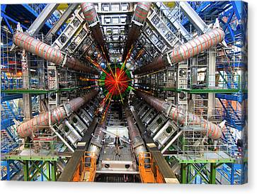Black Hole Event Canvas Print by Cern