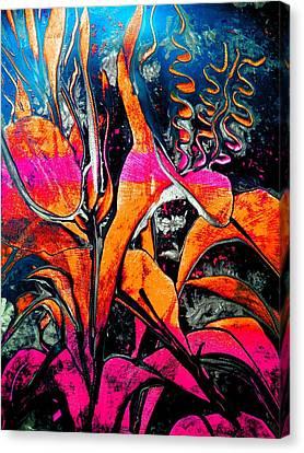 Black Moments Canvas Print