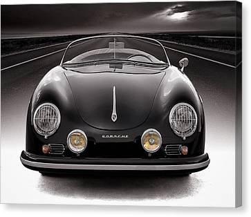Black Speedster Canvas Print by Douglas Pittman