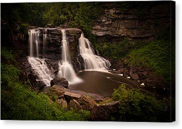 Blackwater Falls Canvas Print by Shane Holsclaw