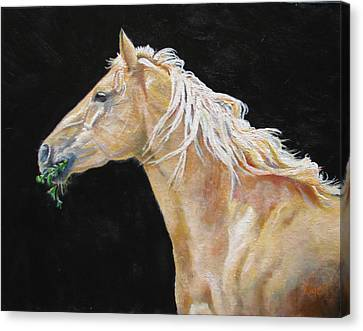 Blondy Canvas Print