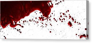 Blood Spatter Series Canvas Print