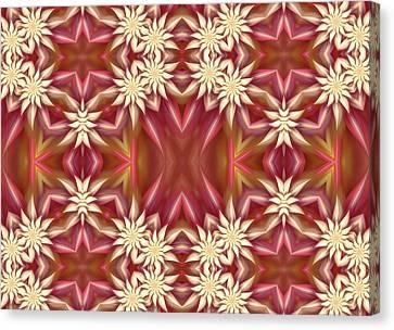 Algorythm Canvas Print - Blossoms Of Spring by Georgiana Romanovna