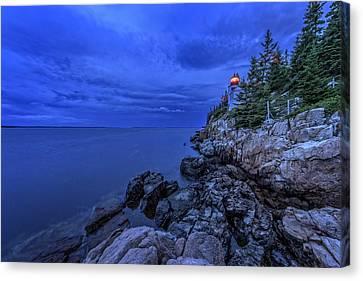 Blue Dawn Canvas Print by Rick Berk
