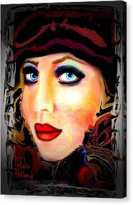 Blue Eyes Canvas Print by Natalie Holland