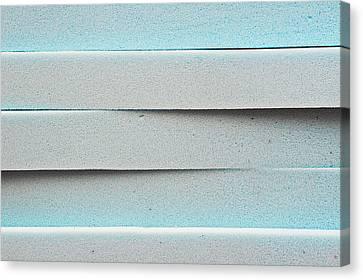 Sponged Canvas Print - Blue Foam by Tom Gowanlock