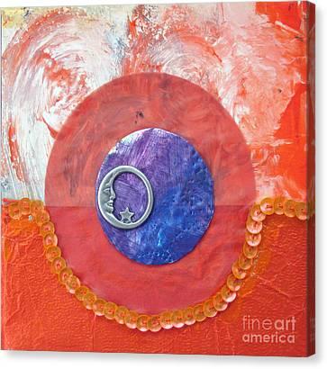 Blue Moon Canvas Print by Ellen Miffitt