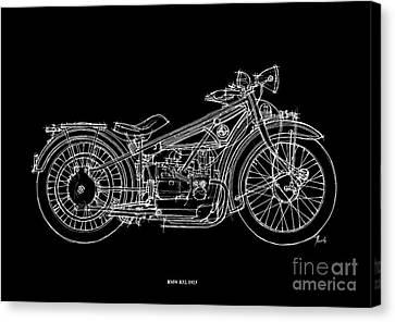 Bmw R32 1923 Canvas Print by Pablo Franchi