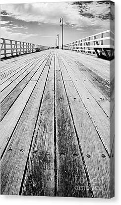 Boardwalk Of Distance Canvas Print by Jorgo Photography - Wall Art Gallery