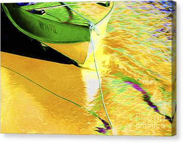 Boats In Water Canvas Print - Boat Abstract by Sheila Smart Fine Art Photography