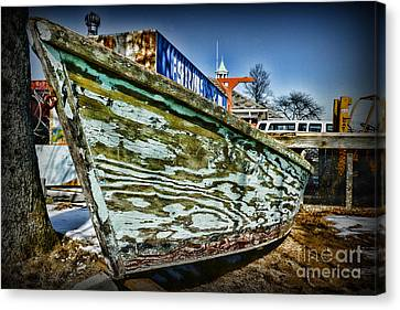 Boat Forever Dry Docked Canvas Print by Paul Ward