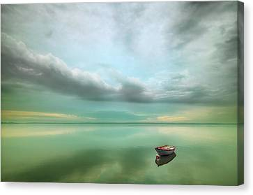 Boat... Canvas Print