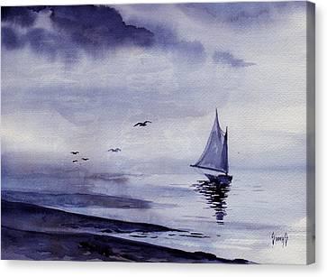Boat Canvas Print by Sam Sidders