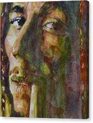 Bob Marley Canvas Print by Paul Lovering