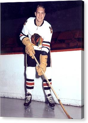 Bobby Hull Canvas Print by Retro Images Archive