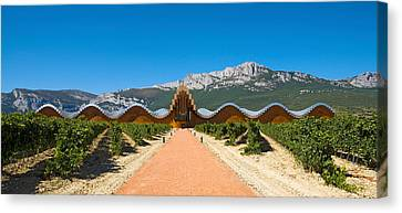 Bodegas Ysios Winery Building Canvas Print