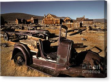 Bodie, California, A Ghost Town Canvas Print by Ron Sanford