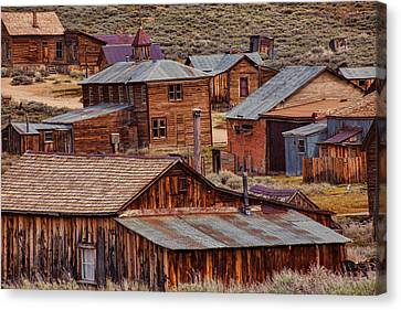 Bodie Ghost Town Canvas Print
