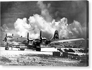 Boeing B-29 'enola Gay' Canvas Print by Us Air Force