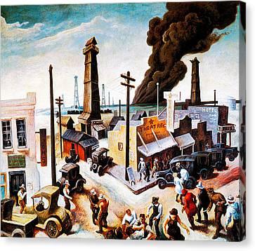 Boomtown Canvas Print