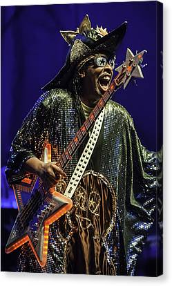 Bootsy Collins  Canvas Print by David Simchock