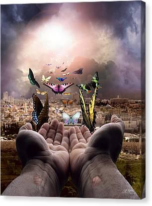 Born Again Israel Canvas Print