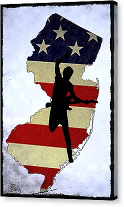 Born In New Jersey Canvas Print