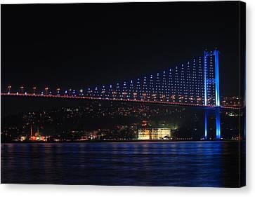Bosphorus Bridge Canvas Print by Ugur Ugurlu