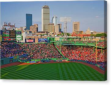 Fenway Canvas Print - Boston Skyline With View Of Historic by Panoramic Images