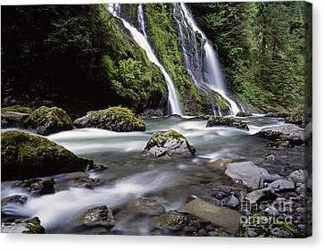 Boulder Creek Falls Canvas Print