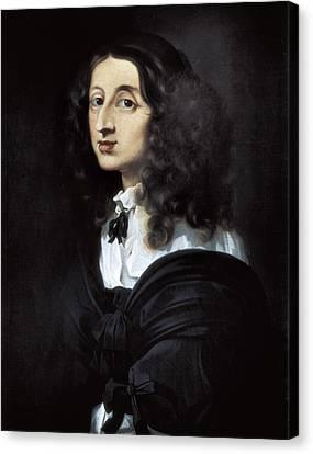 1616 Canvas Print - Bourdon, S�bastien 1616-1671. Christina by Everett