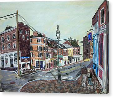 Bow Street As You Were Canvas Print