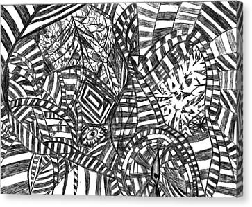 Brain Depth  Canvas Print by Rowan Van Den Akker