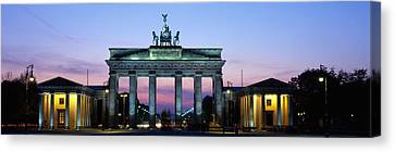 Brandenburg Gate, Berlin, Germany Canvas Print by Panoramic Images