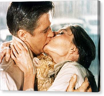 Breakfast At Tiffany's  Canvas Print by Silver Screen