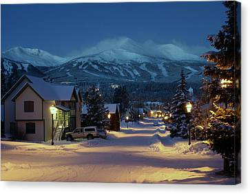 Breckenridge Colorado Morning Canvas Print
