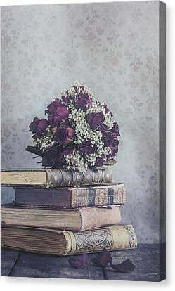 Bridal Bouquet Canvas Print by Joana Kruse