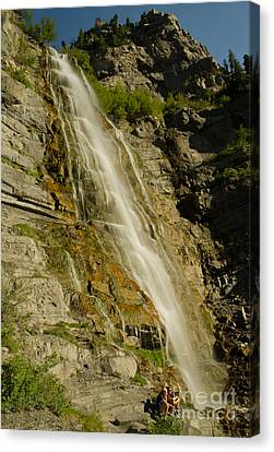 Bridal Veil Falls Canvas Print by Nick  Boren