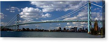 Bridge Across A River, Ambassador Canvas Print