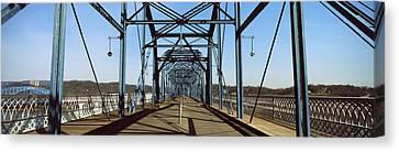 Bridge Across A River, Walnut Street Canvas Print