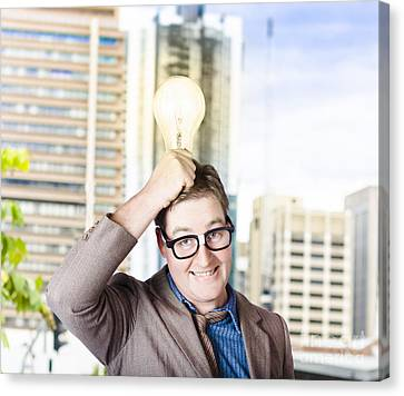 Bright Light Business Solution Canvas Print by Jorgo Photography - Wall Art Gallery
