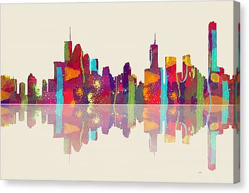 Brisbane Australia Skyline Canvas Print