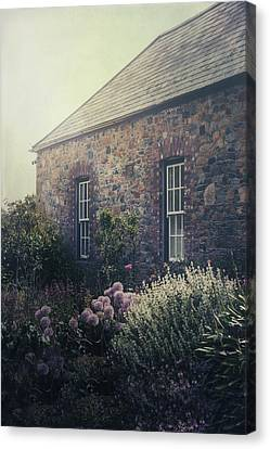 British Cottage Canvas Print