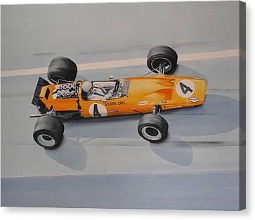 Bruce Mclaren  Canvas Print
