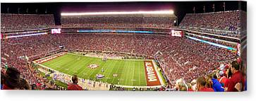 Bryant Denny Stadium Canvas Print by Georgia Fowler